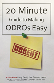 Guide to Making QDROs Easy